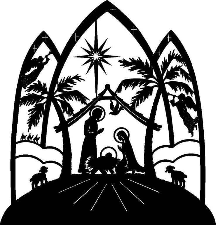 Nativity Clip Art For Parish Bulletin | Clipart Panda - Free ...